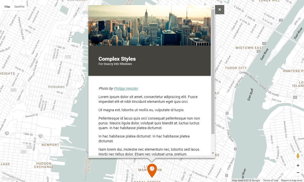 Plugins - Snazzy Maps - Free Styles for Google Maps